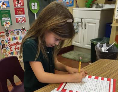 Kindergarten Language Arts Activity