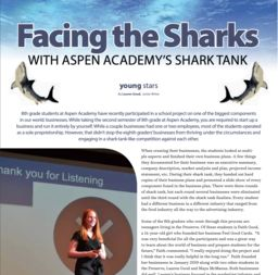 Facing the Sharks with Aspen Academy Shark Tank
