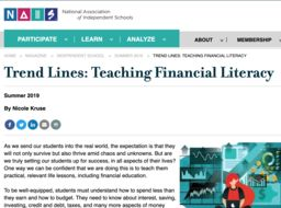 Aspen Academy & Teaching Financial Literacy