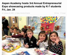 Aspen Academy Hosts 3rd Annual Entrepreneurial Expo