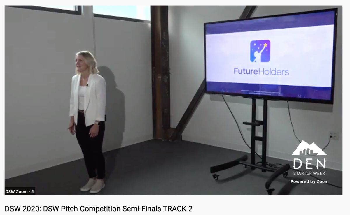 Future Holders Presents in Final Round of Denver Startup Week Pitch Finals